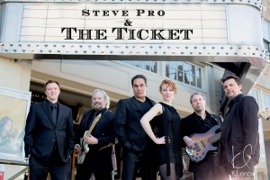 Photo of Steve Pro and The Ticket