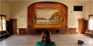 Vermont Humanities Council - Painted Theater Curtains