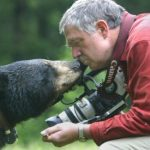 Ben Kilham nose to nose with a black bear